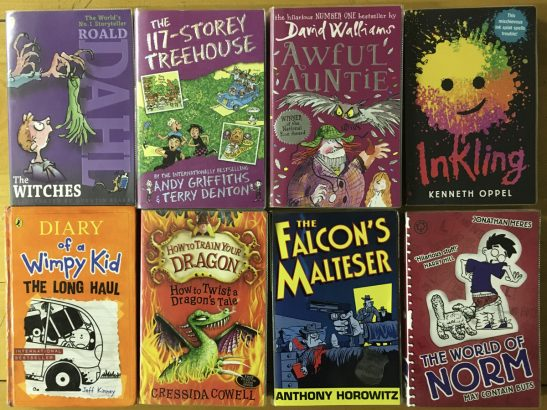 Favourite children's fiction
