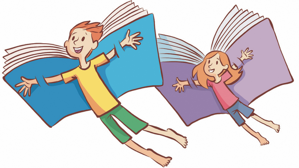 Books with Wings is our new service for parents and carers.  We cannot let anyone inside the Library just now, but we can make the books fly out to you!