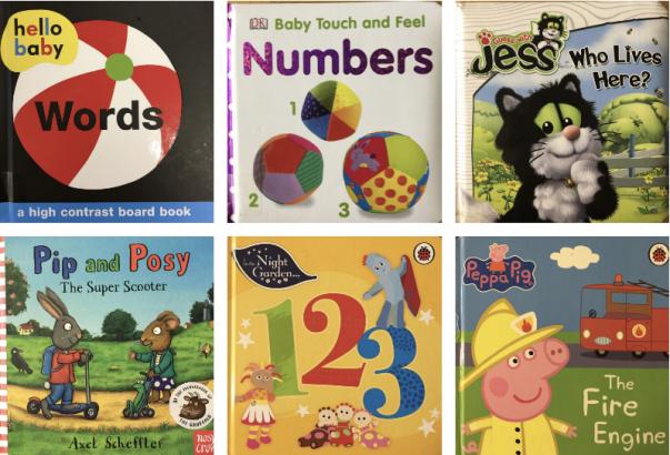 Baby Board Books (0-2 years)