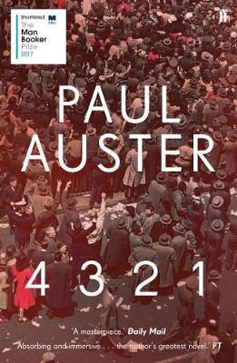 Read more about the article Review: 4 3 2 1 by Paul Auster (2017)
