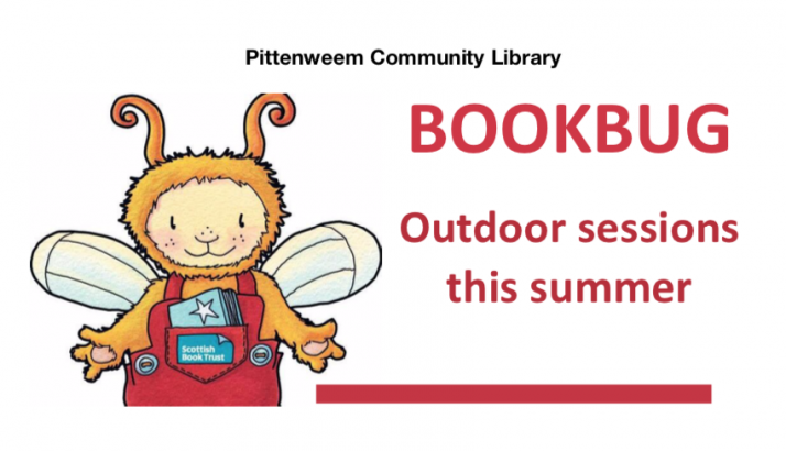 Bookbug – outdoor sessions at Pittenweem Library