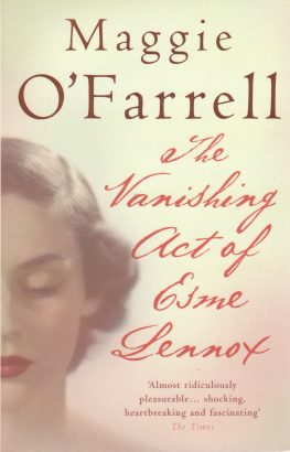 Review: The Vanishing Act of Esme Lennox by Maggie O'Farrell (2007)