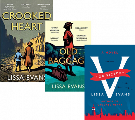 Review: The novels of Lissa Evans and Scotland