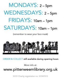 Read more about the article Library open on Fridays from 9 July